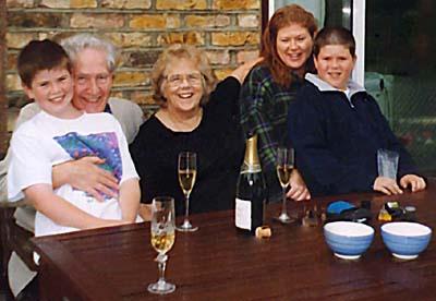 Kisty's family